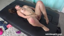Newbie So Kinky She Does Anal With Guy She Thinks Can Give Her A Job