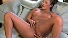 Luscious playing around with her pussy