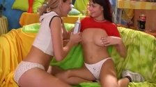 Two teens exploring their fantasies 1