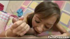 Nika's hot blowjob 1