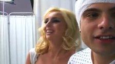At the set of hospital porno