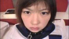 Naughty Japanese teen banged
