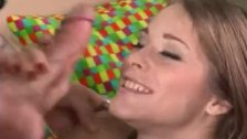 Attractive girl sucking and fucking