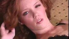 Heather Carolin sexy pantyhose closeup