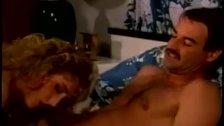 Horny blonde helps insomniac