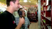 Allan Lake visits a sex store in New York