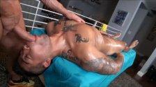 Holiday massage seduction