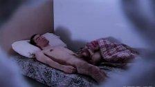 Sleep wanking makes him cum in sleep