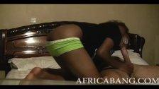 Hard body African amateur fucked hard