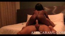 African girlfriend suck and fuck
