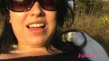 Sexy Zuzinka outdoor