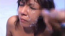 Christel Takizawa hot Asian covered in cum