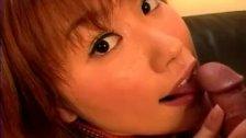 Excited girl Kyoka Usami amazing blowjob