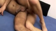 Wild gays bareback anal sex
