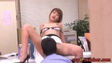 Kaera Uehara Japanese is a beautiful teacher