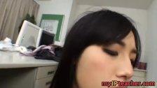 Azusa Nagasawa Asian babe is a busty