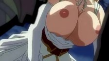 Anime chick gets jizz on her booty