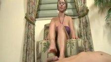 Devon James using her sexy feet