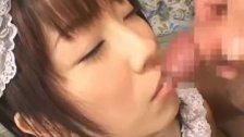 Kinky Japanese Maid Enjoying a Hardcore
