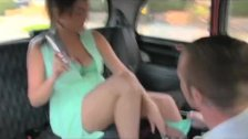 FakeTaxi - Horny young swingers in a taxi