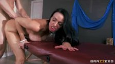 Booty Vanilla Deville has her fat ass fucked