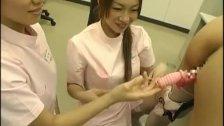 Japanese nurses masturbating