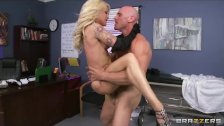 Helly Hellfire visits her doc in a thong - brazzers