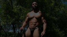 Brice King Outdoor photo shoot