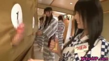 Crazy Japanese chicks and hot orgy