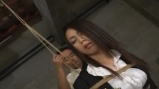 Hitomi Ohishi getting some rope