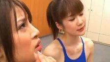 Junna Aoki and Erika Kirihara Naughty