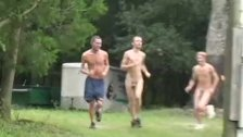 Nude workout for wannabe athletes