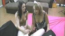 Movie:Double handjob nice cumhot