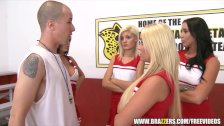 Cheerleader squirts - brazzers