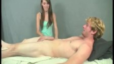 Naughty Masseuse Jerks A Big Dick