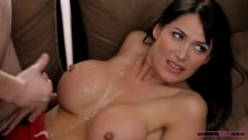 Horny mom gives hands-on sex lessons