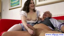 British amateur fucking and sucking old dick