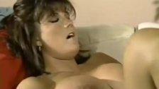 Babewatch - Cumshot on brunette's big tits