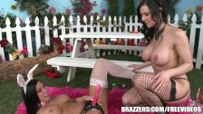 Two sexy ass Bunnies fuck - brazzers