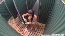 Public Pool´s Shower Voyeur