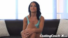 Casting Couch-X Gymnast wants big beams
