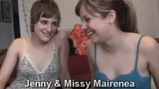 Missy Gives Jenny First Lesbian Experiences