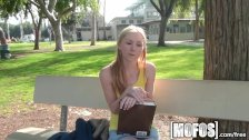 Mofos - Amy Quinn makes studying hot
