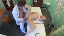 FakeHospital - Beautiful busty blonde loves cock