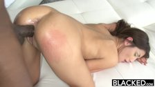 BLACKED Real Model Loves Black Cock