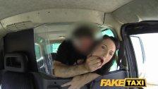 FakeTaxi - Gothic looking woman takes it hard