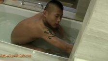 Straight Asian Twink Got Shower