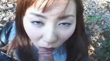Hungry hungry Japanese whore eats a hairy