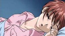 Anime adult video of man fucking on the floor