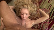 Emily Kae Gets A Load Dumped Into Her Mouth